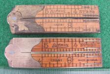 Lufkin # 388 (32 1/2) 1' 4 Fold Boxwood Rule