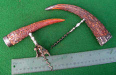 Antique Stag Horn Corkscrew