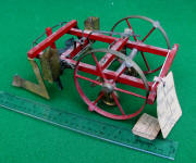 1878 Patent Model of Corn Planter by Adam Heckman