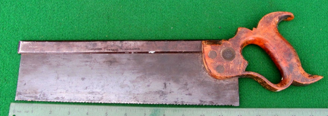 Disston crosscut saw more than 40 years old...