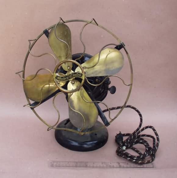 Western Electric 12 Tank Desk Fan