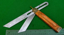 Stanley # 225 12 Inch Double Blade Bevel