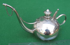 Silver Plated Lamp Filler
