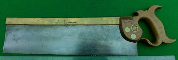 Robert Sorby Brass Back Dovetail / Back Saw