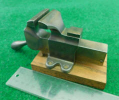 Miniature Nickel Plated Quick Action Vise