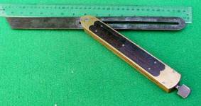 St. Johnsbury Rosewood Infill Bevel w/ 15 Blade