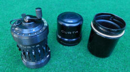 Early # 13090 Curta Type 1 Calculator