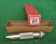 Starrett No. 87 C Mercury Filled Plumb Bob
