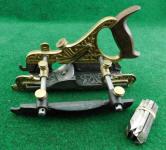 Stanley Miller Patent# 42 Bronze / Gunmetal Plow / FillisterPlane