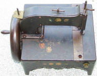 Charles A. Durgin Patent Sewing Machine