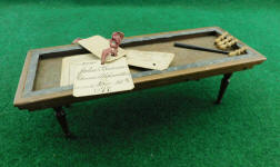 1877 Patent Model - Game Apparatus by John Brown