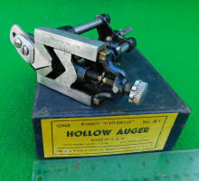 A. A. Woods Hollow Auger in Original Box