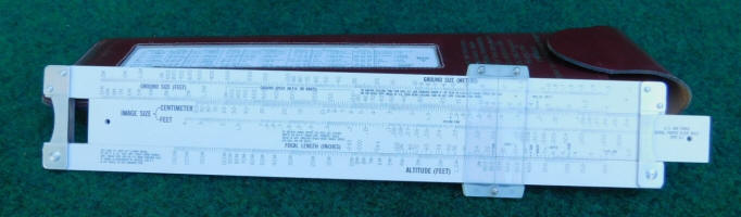 Pickett #52T Air Force Photography Slide Rule