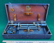 W. & L. E. Gurley Railroad / Wye Level in Box