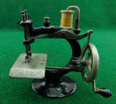 Smith & Egge Little Comfort Improved Cast Iron TSM / Toy Sewing Machine