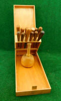 Addis 12 Piece Gouge & Chisel Carving Set in Fitted Box