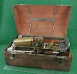 c. 1919 Salesman Sample Combination Tractor Plow in Original Box w/ Sales Brochure
