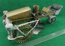 Salesman Sample of Two - Way Tractor Plow