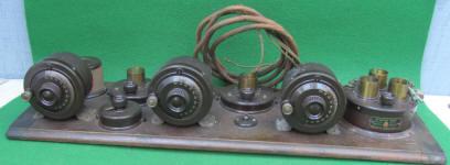 Atwater Kent Breadboard Radio