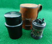 Type 2 Curta Calculator w/ Leather Outer Case