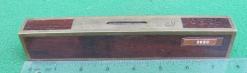 Stratton Brothers 8 Rosewood Plumb & Level