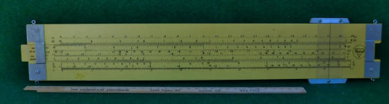 Pickett N1010-ES Trig 4' Classroom Teaching Aid Slide Rule
