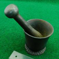 Braun Mortar & Pestle