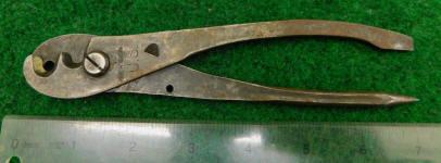 Schollhorn / US Blasting Cap / Dynamite Fuse Crimper / Plier / Tool