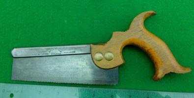 Richardson 6 Inch Open Handle Backsaw