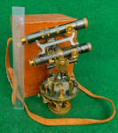 Gurley c. 1913 Explorer / Expedition Size Mining Transit w/ 2nd Auxillary Scope