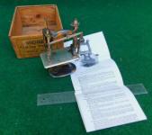 Foley & Williams Midget Toy Sewing Machine / TSM in Unusual Copper Flash Finish