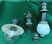 Antique Electric Carbon Arc Lamp