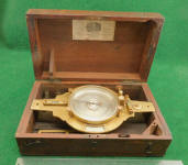 W. & L. E. Gurley Double Vernier Survey Compass