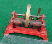 Electro Magnetic Red Toy Motor