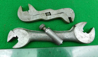 Baxter Patent Double End Wrench