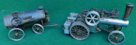 J. I. Case Traction Steam EngineModel