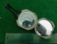 D. W. Brunton Pocket Transit / Compass by Ainsworth