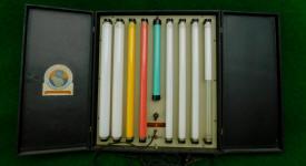 Salesman Sample General Electric Fluorescent Light Display