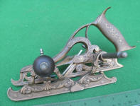 Charles Miller 1872 Patent # 50 Bronze Improved Joiners Plow Plane