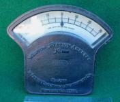 Weston Station Ammeter