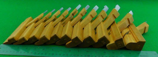Small Wooden Skew Round Planes