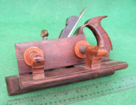 Winsted Plane Co. Rosewood and Boxwood Handled Plow Plane