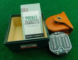 K & E / Keuffel & Esser  Brunton Pocket Transit / Compass