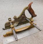 Stanley Miller Patent# 44 Bronze / Gunmetal PlowPlane
