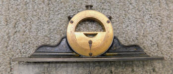 L. L. Davis Mantle Clock Level Inclinometer
