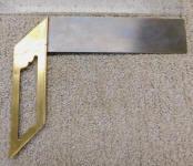 Stanley # 15 Brass Frame Square