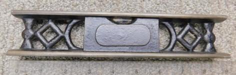 itchburg- Webb Patent Cast Iron Level