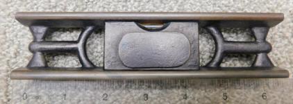 Fitchburg Webb Patent Cast Iron Level