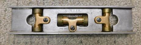 Rollis 7 Inch Patented Dec 22 1896 Level