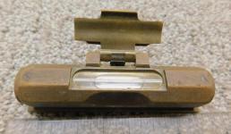 Auto-Lite 1918 No. 443 Hooded Brass Level